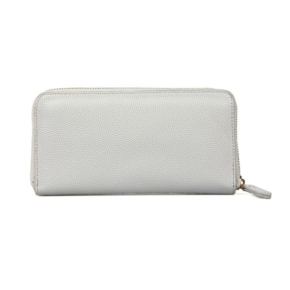 Valentino Bags Womens Silver Divina Zip Around Purse
