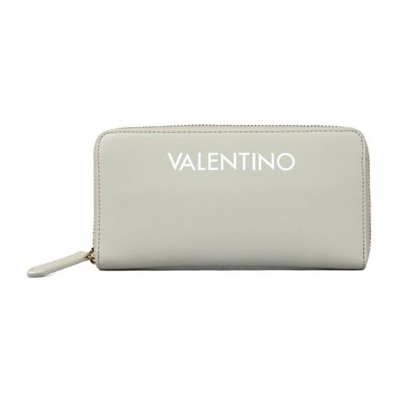 Valentino by Mario Womens Grey Masha Zip Around Purse main image