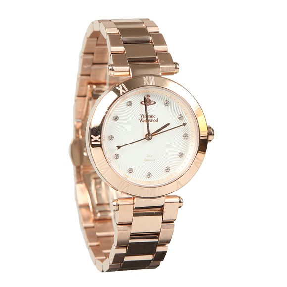 Vivienne Westwood Womens White Montagu Ladies Watch