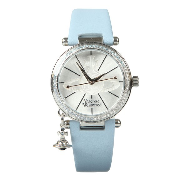 Vivienne Westwood Womens Blue Orb Pastelle Watch