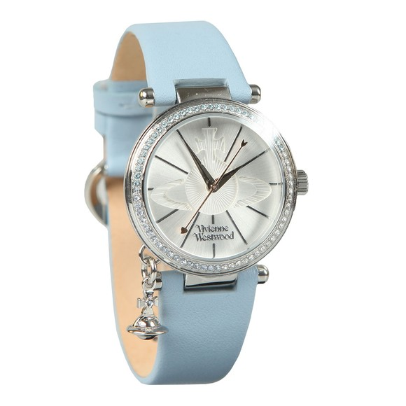 Vivienne Westwood Womens Blue Orb Pastelle Watch main image