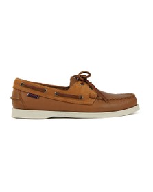 Sebago Mens Brown Portland Winch Boat Shoe