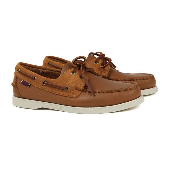 Sebago Mens Brown Portland Winch Boat Shoe main image
