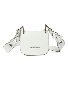 Valentino by Mario Womens White Zootropolis Satchel