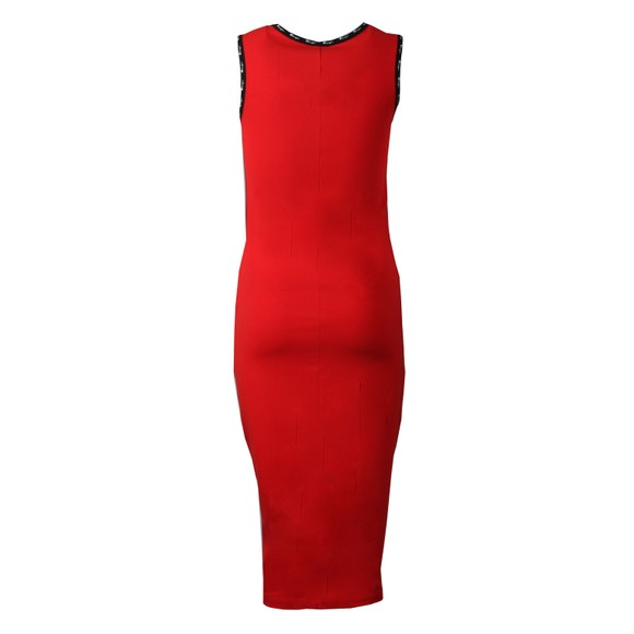 Champion Reverse Weave Womens Red Small Logo Dress main image