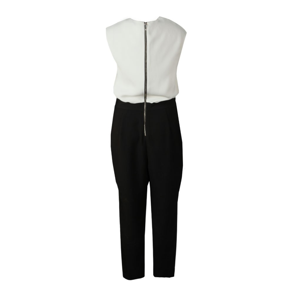 Roziee Pearl Neck Detail Jumpsuit main image