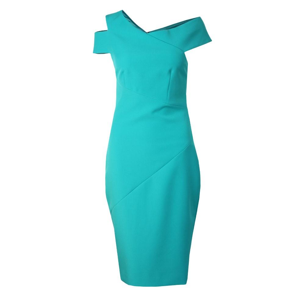 Yandal Asymmetric Bodycon Dress main image