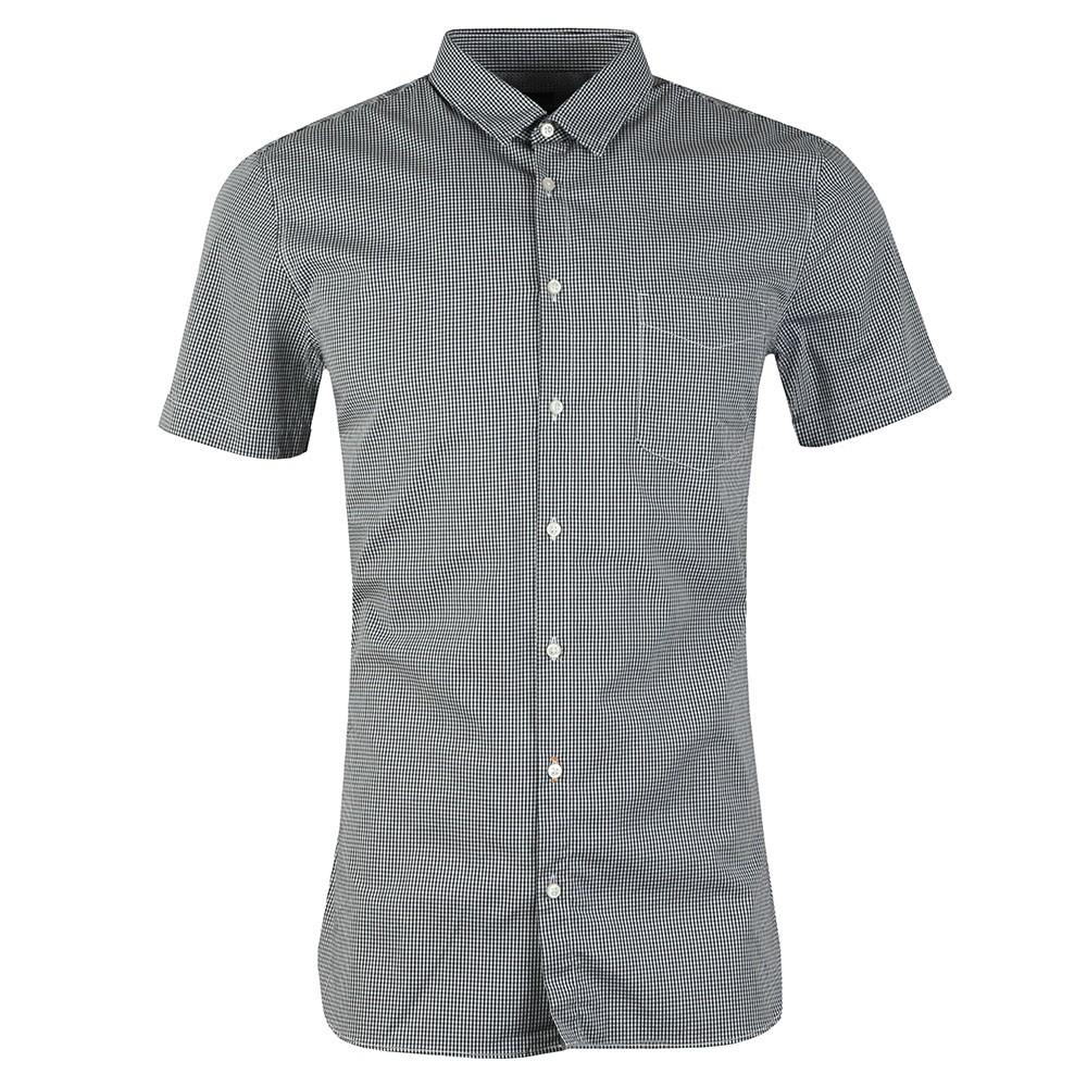 Casual Magneton Short Sleeve Check Shirt main image