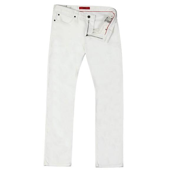 HUGO Mens White 708 Slim Jean