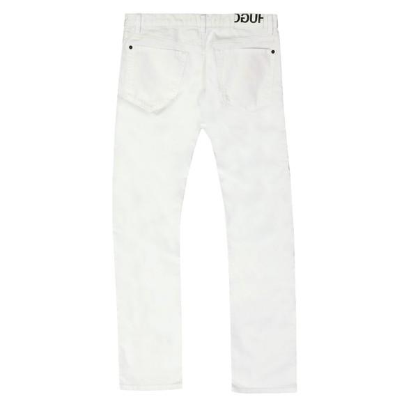 HUGO Mens White 708 Slim Jean main image