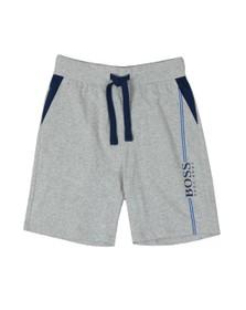 BOSS Bodywear Mens Grey Authentic Stripe Detail Jersey Short