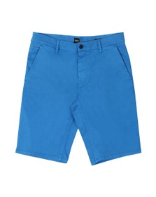 BOSS Mens Blue Casual Schino Slim Short