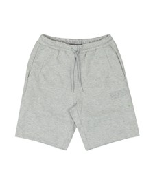 BOSS Mens Grey Athleisure Headlo Jersey Short