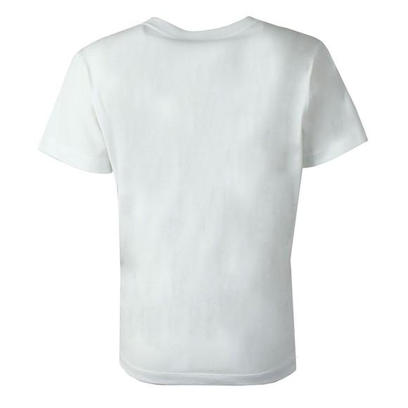 Champion Reverse Weave Womens White Large Script Logo T Shirt main image