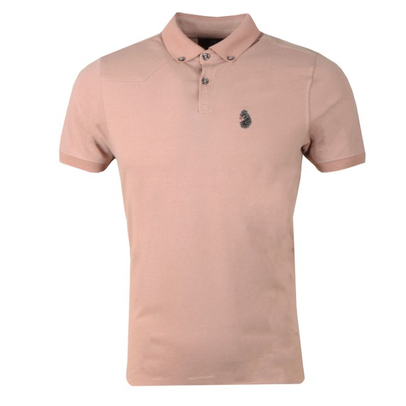 Luke 1977 Mens Pink New Bil Polo Shirt main image