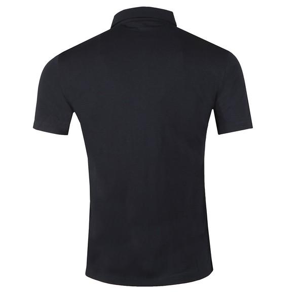 Emporio Armani Mens Blue Jersey Polo Shirt main image