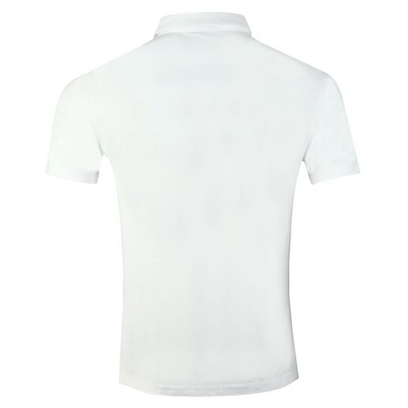 Emporio Armani Mens White Jersey Polo Shirt main image