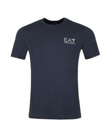 EA7 Emporio Armani Mens Blue Jersey T Shirt