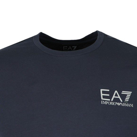 EA7 Emporio Armani Mens Blue Jersey T Shirt main image
