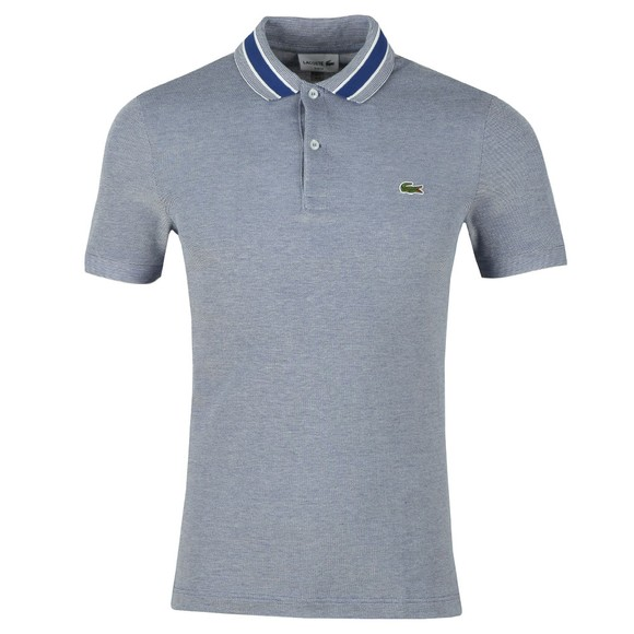Lacoste Mens Blue PH4251 Slim Fit Polo main image