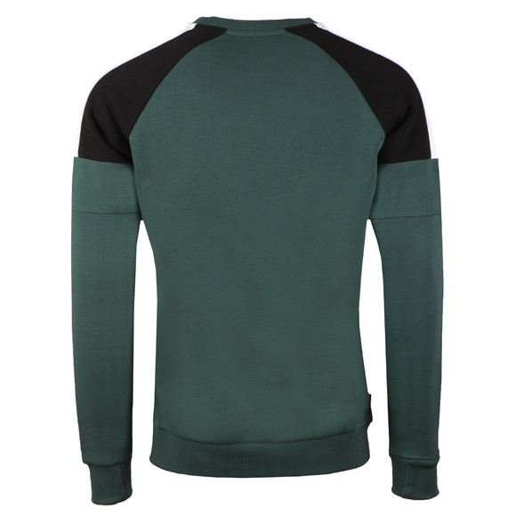 Gym King Mens Green Core Plus Contrast Sweat main image