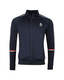 Gym King Mens Blue Diego Retro Track Top