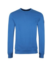 BOSS Mens Blue Casual Walkup Sweatshirt