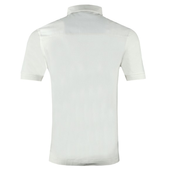 Fred Perry Mens Off-White Oxford Trim Pique Polo main image
