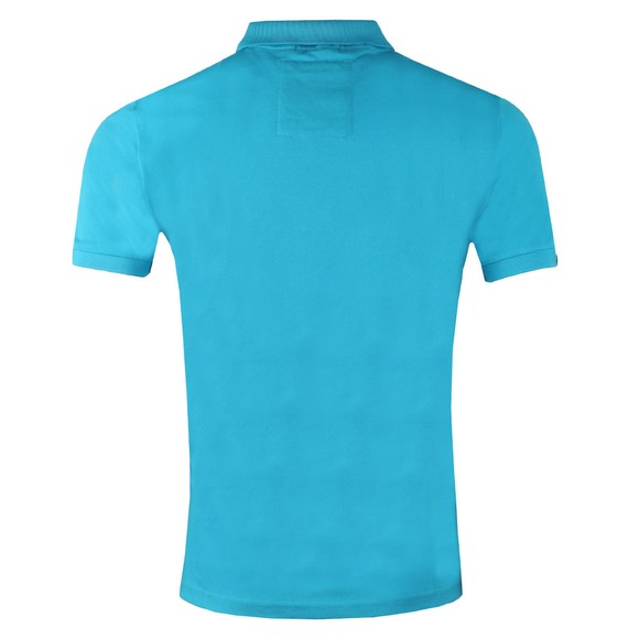 Superdry Mens Blue Mercerised Lite City Polo main image