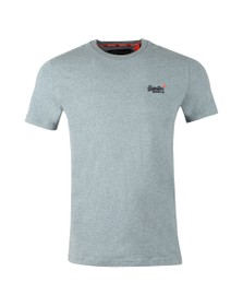 Superdry Mens Blue Vintage Embroider Tee