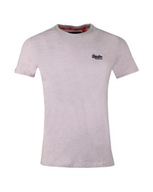 Superdry Mens Pink Vintage Embroider T-Shirt