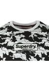 Superdry Mens White International Monochrome T-Shirt