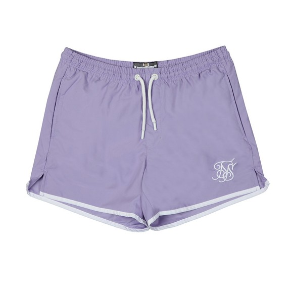 Sik Silk Mens Purple Standard Bound Swim Shorts main image