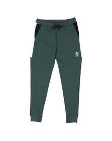 Gym King Mens Green Core Plus Track Bottoms