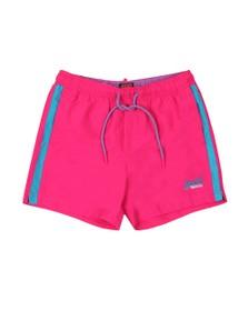 Superdry Mens Pink Beach Volley Swim Short