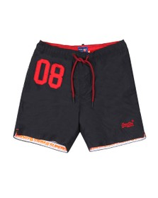 Superdry Mens Blue Water Polo Swim Short