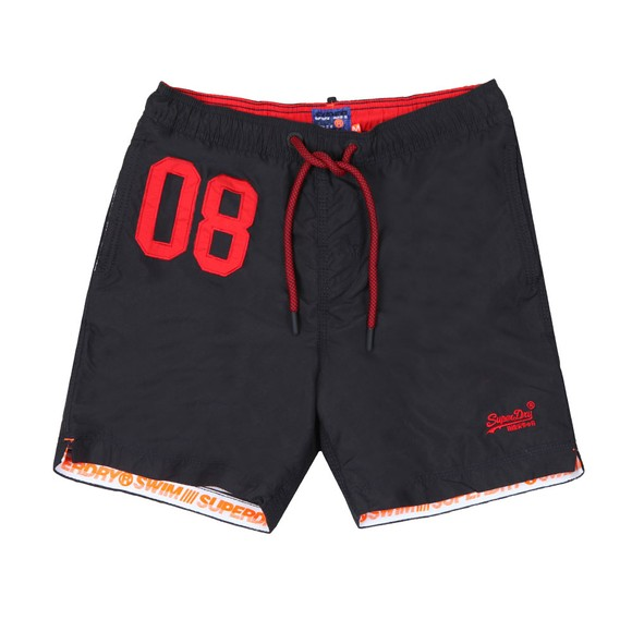 Superdry Mens Blue Water Polo Swim Short main image