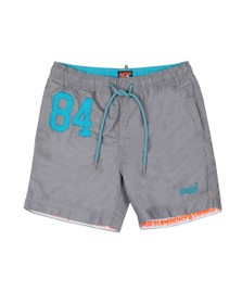 Superdry Mens Grey Water Polo Swim Short