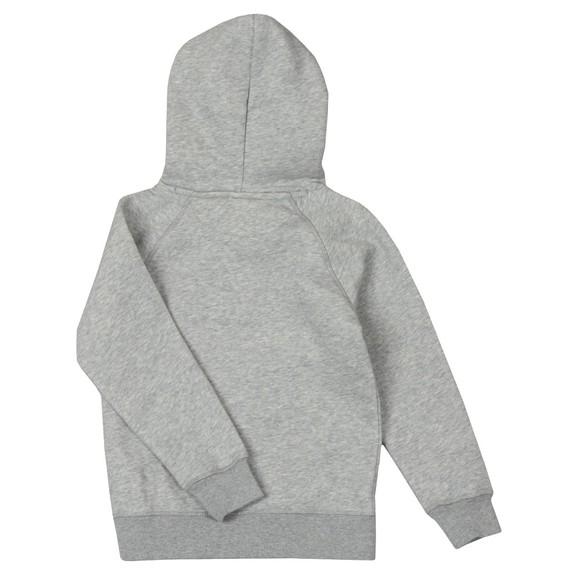 Gant Boys Grey Shield Logo Hoody