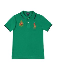 Polo Ralph Lauren Boys Green Big Polo Player Polo Shirt