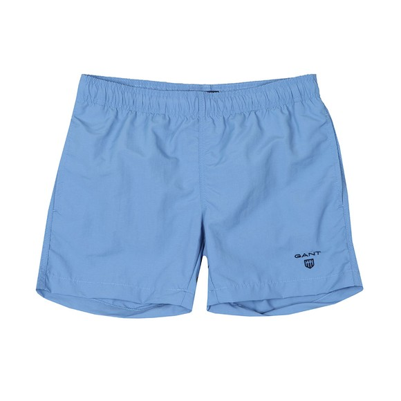 Gant Boys Blue Basic Swim Shorts main image