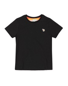 Paul Smith Junior Boys Black Tete Plain T Shirt