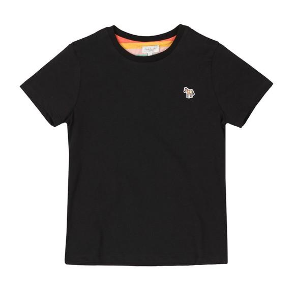 Paul Smith Junior Boys Black Tete Plain T Shirt main image