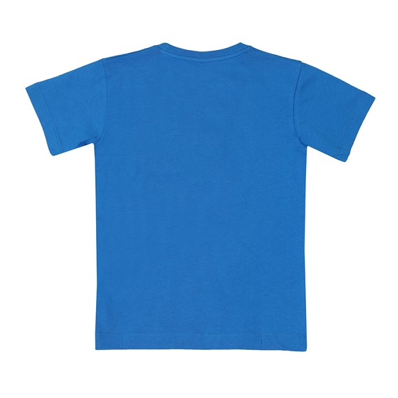 Paul & Shark Cadets Boys Blue Plain Logo T-Shirt main image