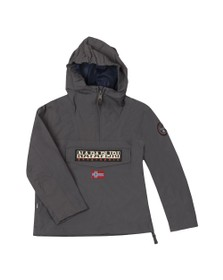 Napapijri Boys Grey Rainforest Summer Jacket