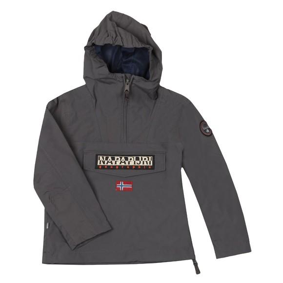 Napapijri Boys Grey Rainforest Summer Jacket