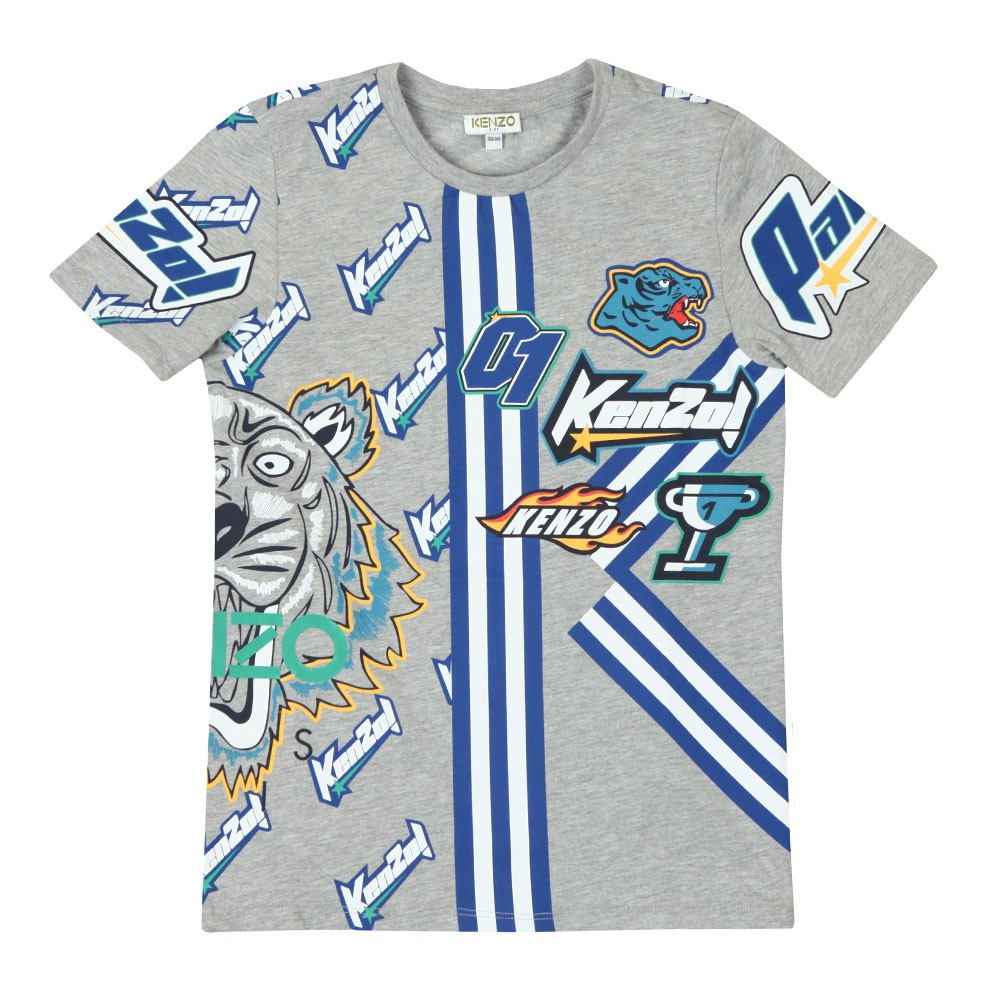 c0abcede4d94 Kenzo Kids Frank Racing Kenzo T Shirt | Oxygen Clothing