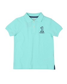 Hackett Boys Blue Number 1 Class Polo Shirt