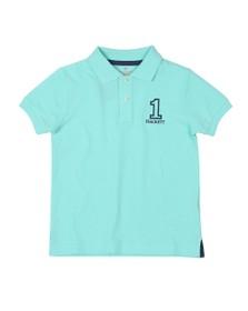 Hackett Boys Blue Number 1 Class Polo Shirt
