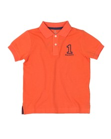 Hackett Boys Orange Number 1 Class Polo Shirt